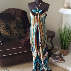 Valerie Bertinelli halter dress • sz 6